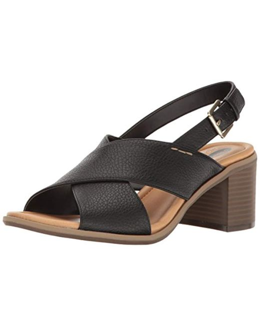 e29a7710039c Lyst - Dr. Scholls Dr. Scholl s Sequence Dress Sandal in Black ...