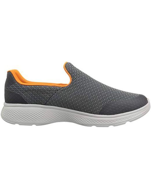 ... Skechers - Gray Performance Go Walk 4 Expert Walking Shoe for Men -  Lyst ... 26c0c7beb93