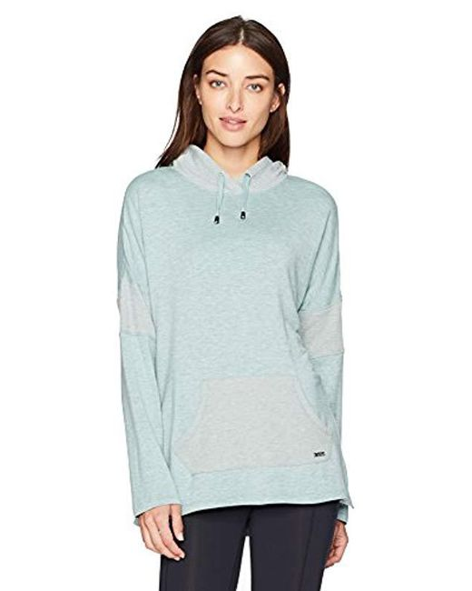 Marc New York - Blue L/s Hooded Tunic W/thermal - Lyst