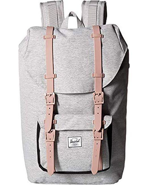 Herschel Supply Co. - Gray Little America Mid-volume Backpack for Men - Lyst  ... 4e7327e90b