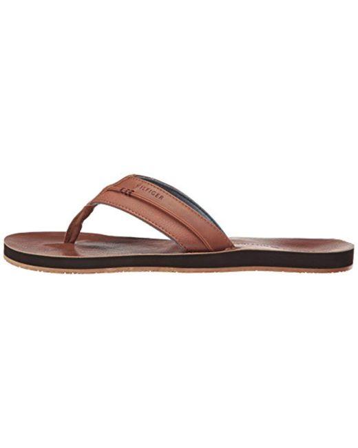 36b548e0e92fd ... Tommy Hilfiger - Multicolor Davidson Flat Sandal for Men - Lyst ...