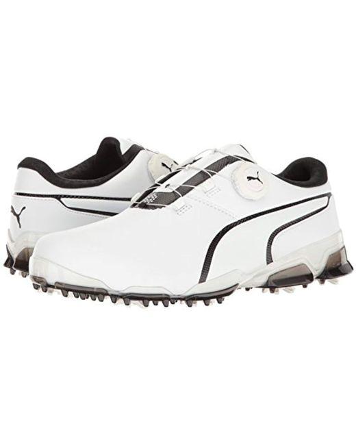 7bb7cbcd2910 Lyst - PUMA Titantour Ignite Disc Golf-shoes in Black for Men - Save 51%
