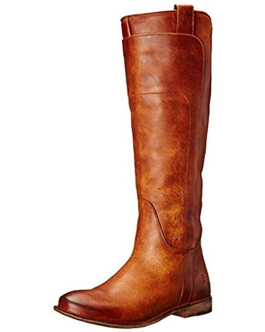 Frye - Multicolor Paige Tall-apu Riding Boot - Lyst