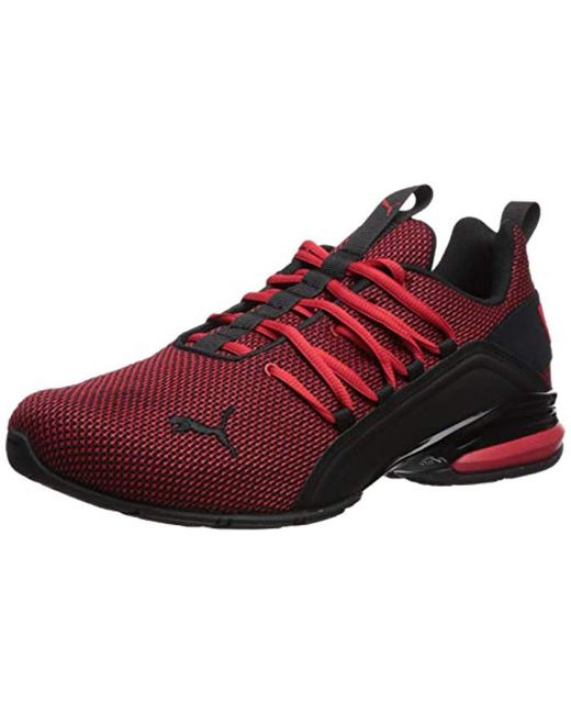 c2e73c2b58a Lyst - PUMA Axelion Sneaker in Red for Men - Save 25%