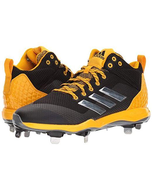 825d4fb07ef5bd ... Adidas - Metallic Freak X Carbon Mid Baseball Shoe