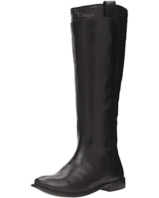 Frye - Black Paige Tall Riding Boot - Lyst