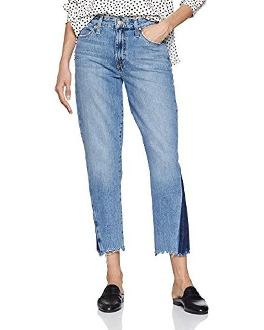Joe's Jeans Blue Smith High Rise Straight Ankle Jean