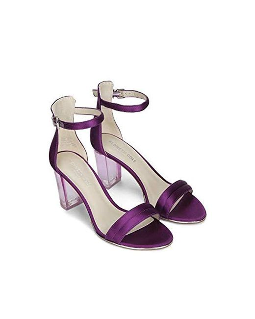 8ec060a966 ... Kenneth Cole - Multicolor Lex Lucite Heel Dress Sandal Heeled - Lyst ...