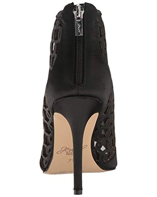 11ee7c86b6ae9f Lyst - Badgley Mischka Holt Ankle Bootie in Black - Save 13%