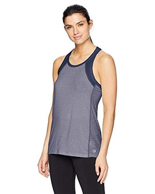 Champion Blue Gym Issue Tank