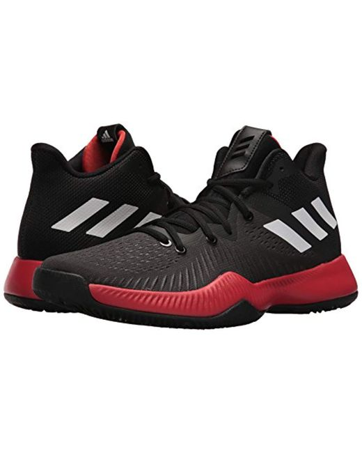 brand new b2254 71f28 ... Adidas - Black Mad Bounce Basketball Shoe for Men - Lyst ...
