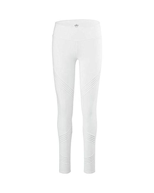 Alo Yoga - White Multi Legging - Lyst