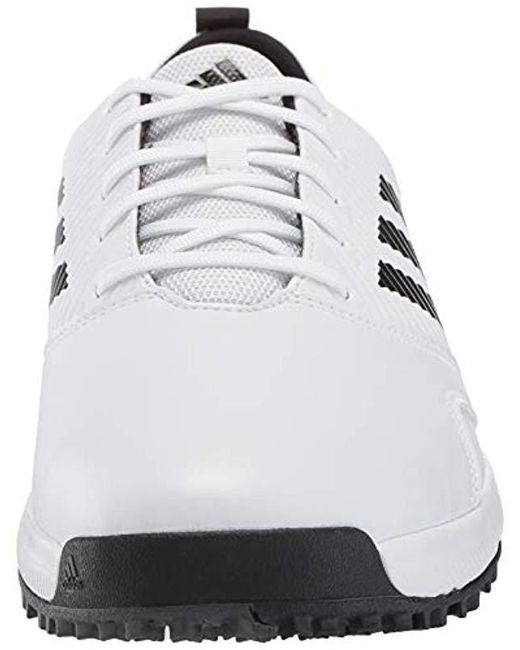 db5a9a5f2444 ... Adidas - White Cp Traxion Sl Golf Shoe for Men - Lyst ...