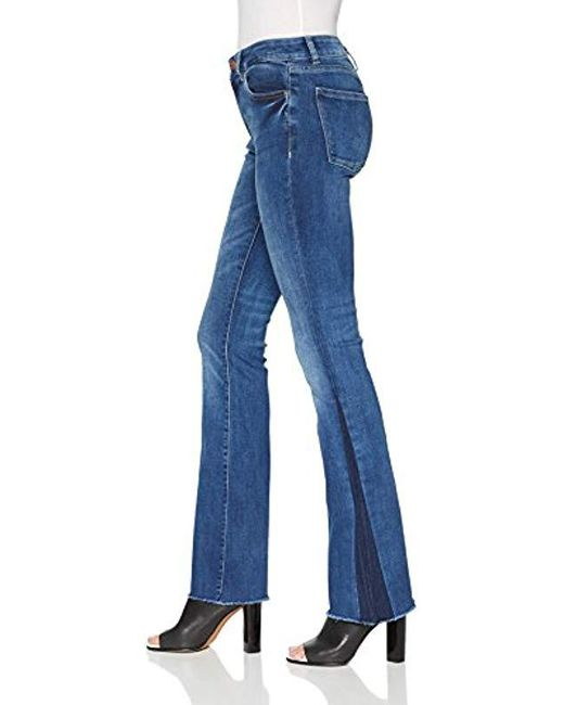 cd3992f6553 DL1961 Bridget Mid Rise Bootcut Jeans in Blue - Save 60% - Lyst