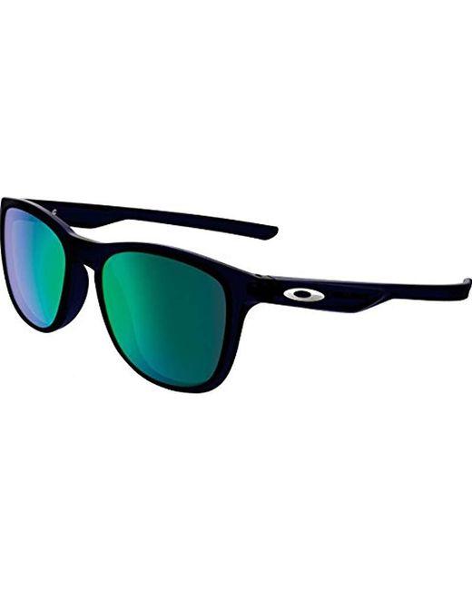 Oakley - Blue Trillbe X Non-polarized Iridium Rectangular Sunglasses for Men - Lyst