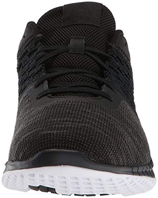 829bb948597 ... Reebok - Black Print Run Dist Sneaker - Lyst ...