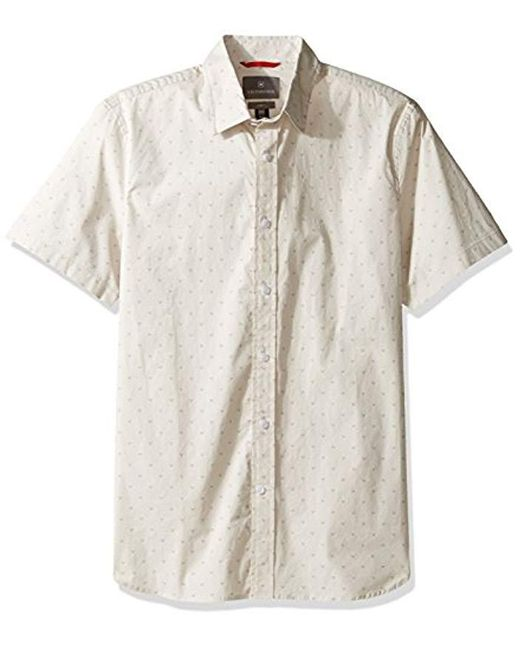 Victorinox - Multicolor Monte Short Sleeve Shirt for Men - Lyst