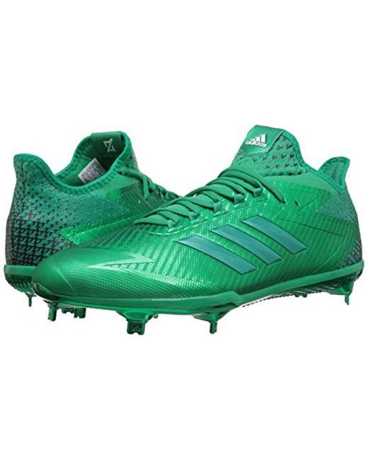 e6e0f28dec66 ... Adidas - Green Performance Adizero Afterburner 4 for Men - Lyst ...