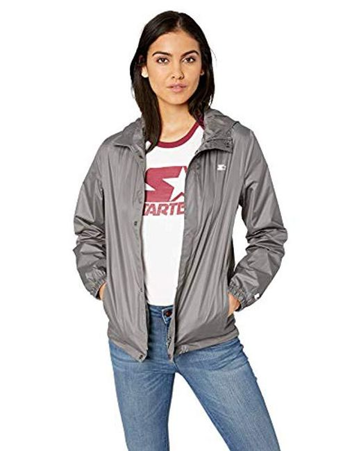 Starter - Gray Waterproof Breathable Jacket, Amazon Exclusive - Lyst