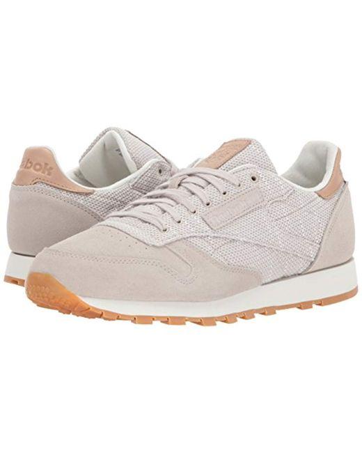 b6c04cadfc95 ... Reebok - Multicolor Cl Leather Ebk Sneaker for Men - Lyst ...