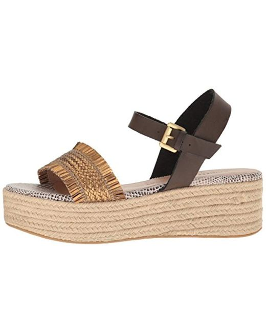 509e6621a27 ... Chinese Laundry - Brown Ziba Espadrille Wedge Sandal - Lyst ...