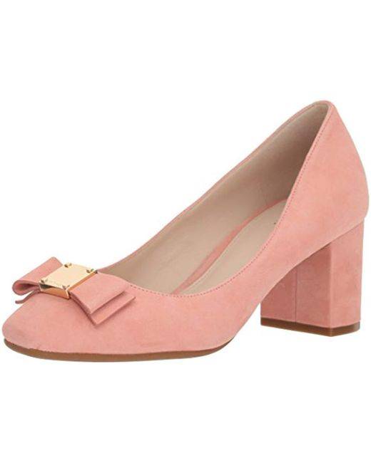 Cole Haan - Pink Tali Bow Pump - Lyst