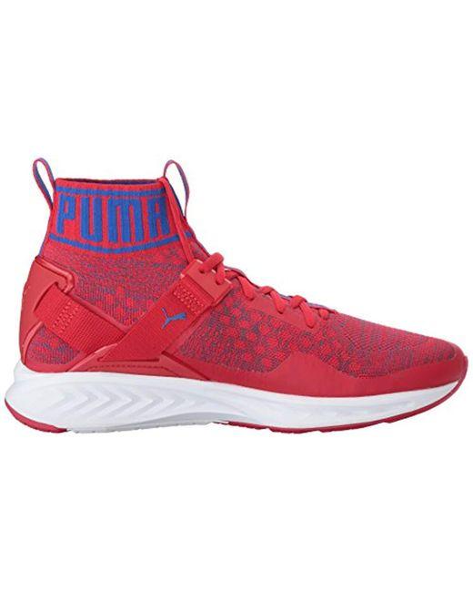 1288c153c8f9 ... PUMA - Red Ignite Evoknit Cross-trainer Shoe for Men - Lyst ...