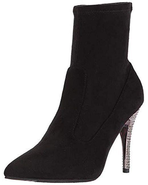 Nina - Black Roxie Ankle Bootie - Lyst