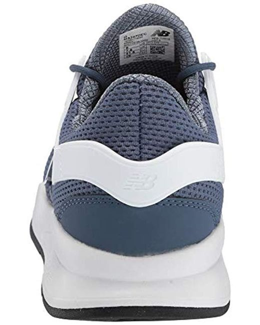 410eb71c7aa94 ... New Balance Blue New Balance 247 Deconstructed Shoes for men ...