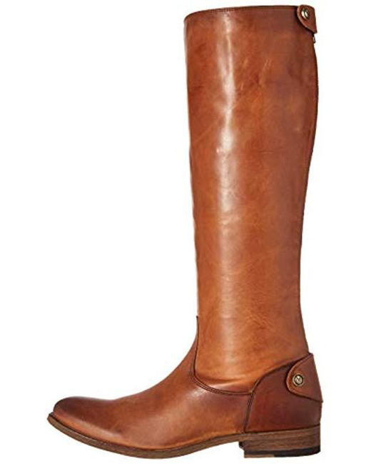 e9f08d4de9a Lyst - Frye Melissa Button Back-zip Boot in Brown - Save 36%