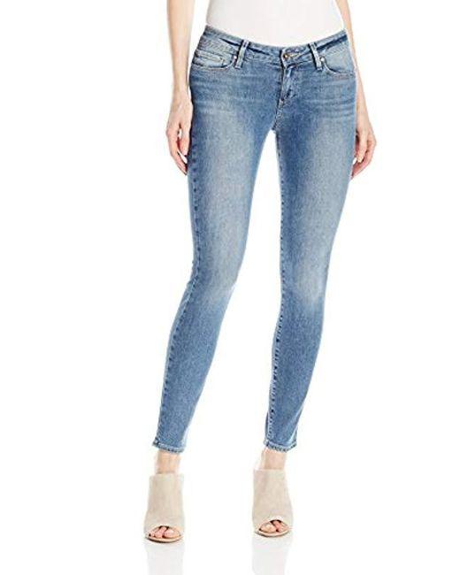 PAIGE - Blue Verdugo Ankle Jeans - Pryor, - Lyst