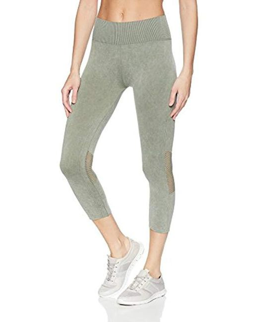 Splendid Green Studio Activewear Workout Athletic Seamless Legging Bottom