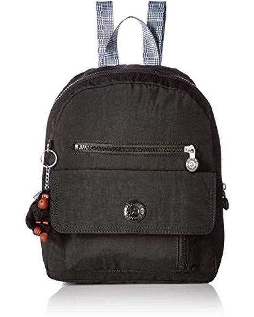 568a766858 Kipling Womens Carrie Backpack With Printed Straps in Black - Save ...