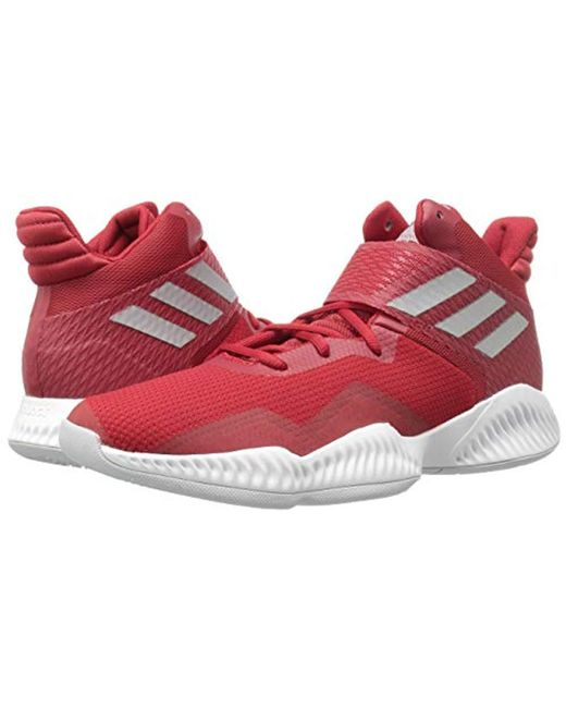 info for 99eee 37175 ... Adidas - Red Explosive Bounce 2018 Basketball Shoe for Men - Lyst ...
