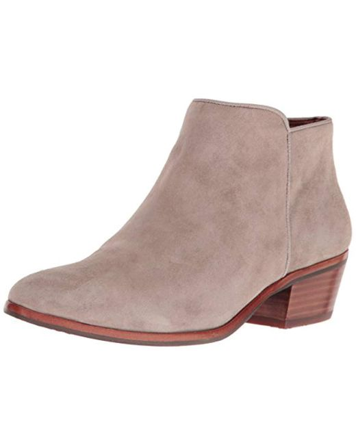 0277b1a8e239 Sam Edelman - Brown Petty Ankle Boot - Lyst ...