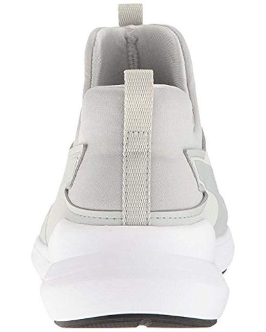 5860b76f170e81 ... PUMA - Gray Rebel Mid Wns Low-top Sneakers - Lyst ...
