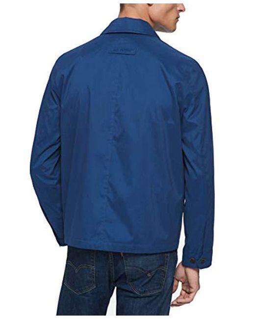 996c35fb ... Tommy Hilfiger - Blue Lightweight Microtwill Golf Jacket (regular &  Big-tall Sizes) ...