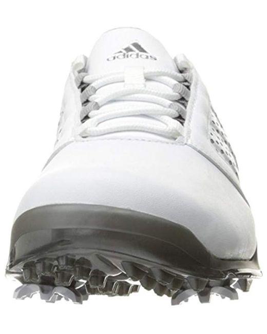 new style e2f15 ee8c7 ... Adidas - White W Adipure Tour Cblacksil Golf Shoe - Lyst ...
