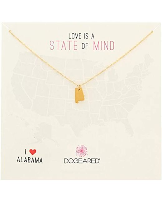 Dogeared - Metallic State Of Mind Sterling Silver Chain Necklace - Lyst