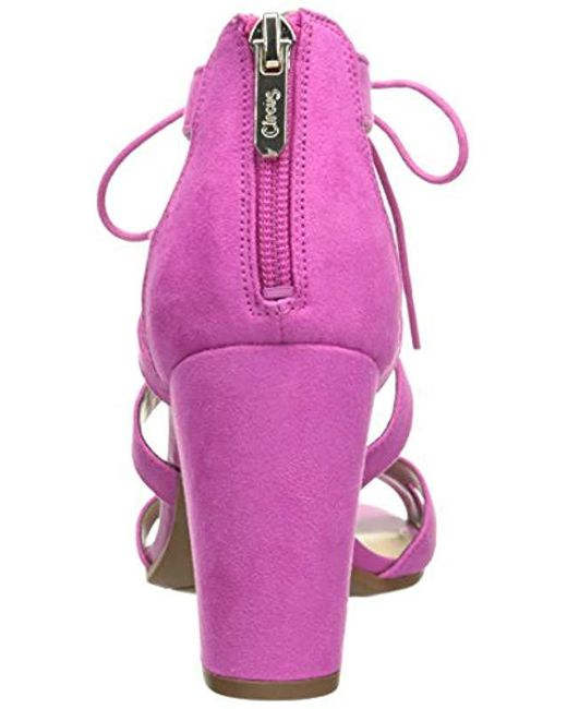 f5290c8a5ed1 Lyst - Circus by Sam Edelman Emilia Heeled Sandal in Pink - Save 1%