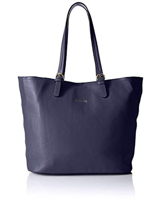 Kenneth Cole Reaction Blue The Perfect Work Tote Bag Lyst