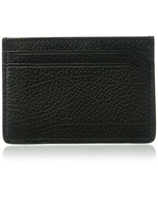 BOSS - Black Hugo By Twin Leather Card Holder for Men - Lyst
