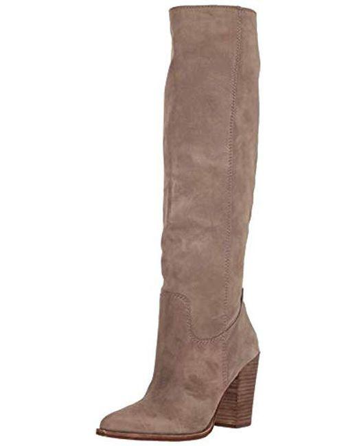 bdb95263da0 Dolce Vita - Brown Kylar Knee High Boot - Lyst ...