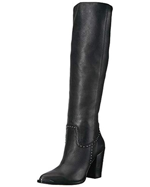 ef6a73d62c39 Dolce Vita - Black Kanya Knee High Boot - Lyst ...