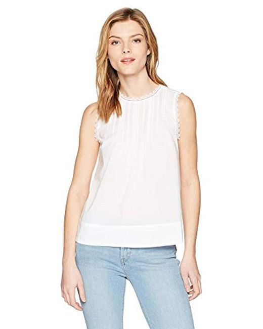 b8975d6e225d17 Lyst - Levi s Janis Top in White - Save 7%