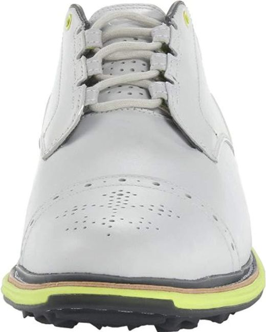 pretty nice 7ea2b ad640 ... Nike - Golf Lunar Clayton Golf Shoe, White venom Green cool Grey  ...