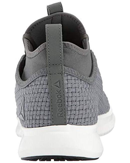 56b233c1e20b Lyst - Reebok Plus Runner Woven Sneaker in Black for Men - Save ...