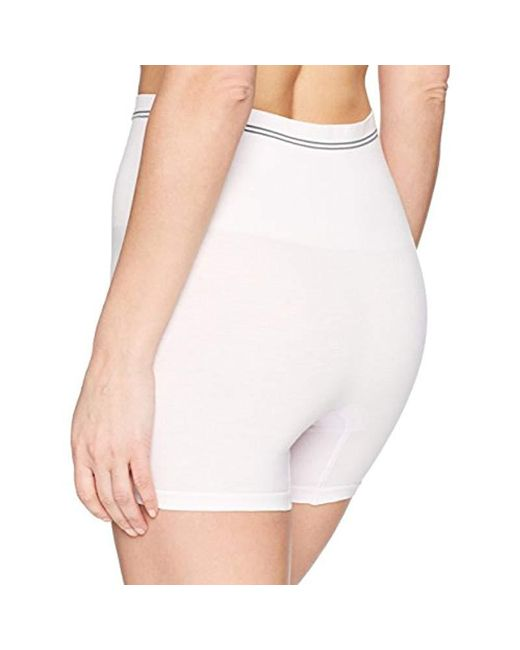 749aa3816fb1d ... Lyst Yummie - Cotton Seamless Shaping Shorts (white) Women s Shorts ...