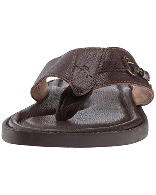 2549fea1783b Lyst - Tommy Bahama Belize Vintage Sandal in Brown for Men - Save 30%