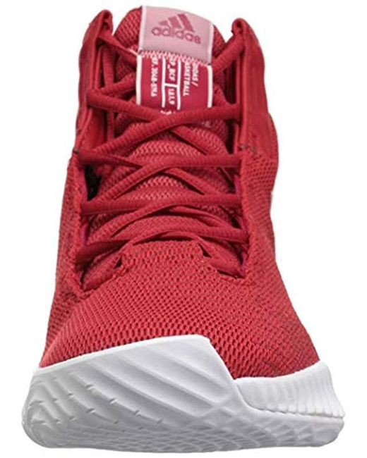 a55d63980ed ... Adidas Originals - Red Pro Bounce 2018 Basketball Shoe for Men - Lyst  ...